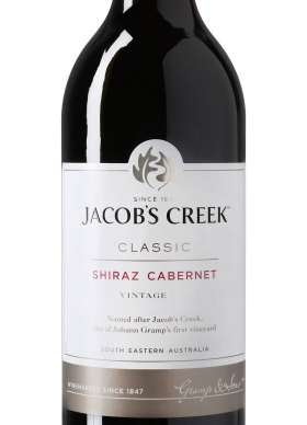 Jacobs Creek Shiraz Cabernet Tinto 2015