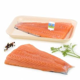 Filete salmón recién envasado CYO
