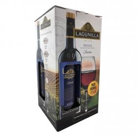 Vino D.O. Rioja tinto reserva Lagunilla 4 botellas de 75 cl.