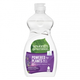 Lavavajillas a mano ecológico Lavender & Mint Seventh Generation 500 ml.