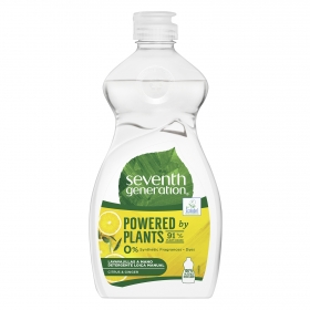Lavavajillas a mano ecológico Citrus & Ginger Seventh Generation 500 ml.