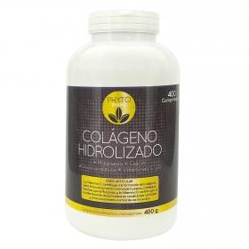 Colágeno hidrolizado Phytofarma 400 comprimidos.