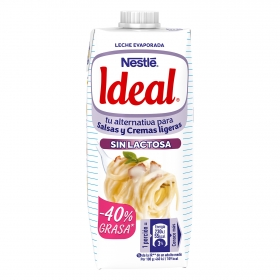 Leche evaporada desnatada Nestlé - Ideal sin lactosa 525 g.