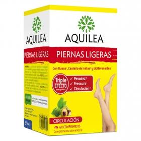 Complemento alimenticio piernas ligeras Aquilea 60 comprimidos.
