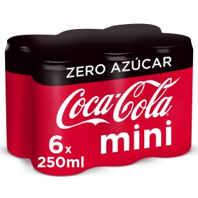 Refresco de cola zero Mini