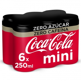 Refresco de cola zero sin cafeína Mini