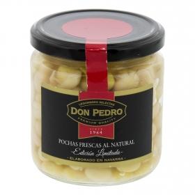 Alubia pocha cocida Don Pedro cocida premium 205 g.