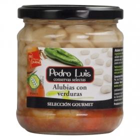 Alubias con verduras Pedro Luis 345 g.