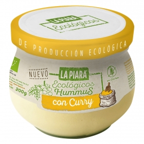 Hummus con curry ecológico