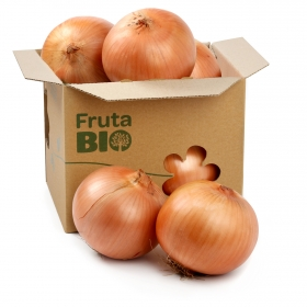 Cebolla ecológica Carrefour granel 1 Kg aprox