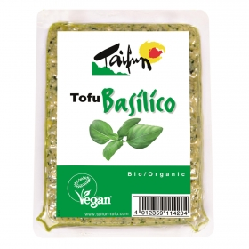 Tofu con albahaca ecológico Taifun 200 g.