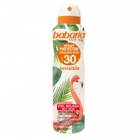Spray protector SPF 30+ Invisible Babaria 200 ml.