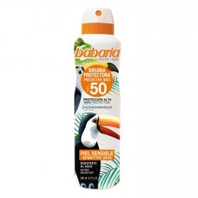 Bruma protectora SPF 50+ Babaria 200 ml.
