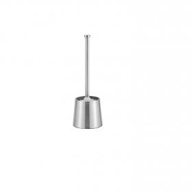 Escobillero de Wc de Metal  12cm Metalizado