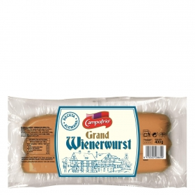 Salchichas Grand Wienerwurst Campofrío 400 g.