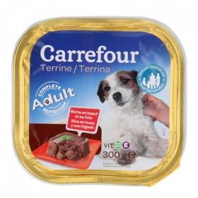 Alimento Húmedo para Perros Hígado de Buey 300 gr, Carrefour