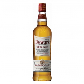 Whisky Dewar's White Label escocés 1 l.