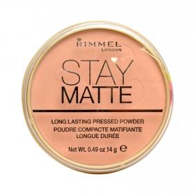 Polvos compactos Stay Matte nº 008 Cashmere Rimmel 1 ud.
