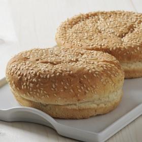 Pan de súper hamburguesa