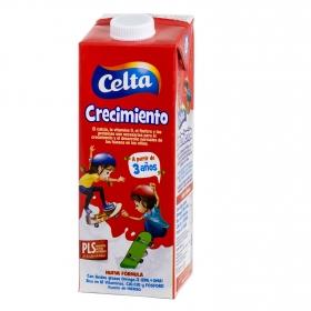 Bebida láctea energía y crecimiento Celta brik 1 l.