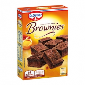 Preparado brownies