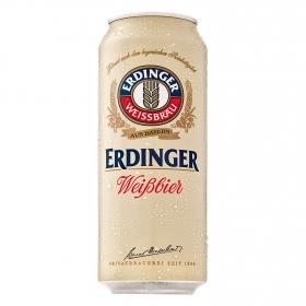 Cerveza Erdinger Weissbier lata 50 cl.