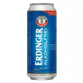 Cerveza Erdinger sin alcohol lata 50 cl.