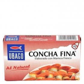 Concha fina al natural Ubago 55 g.