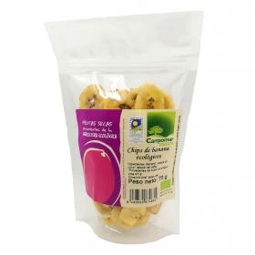 Patatas de banana ecológicas Campomar Nature 75 g.