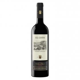 Vino D.O. Rioja Tinto crianza Selección viñedos El Coto 75 cl.
