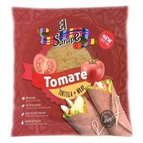 Tortillas de trigo tomate El Sarape 320 g.