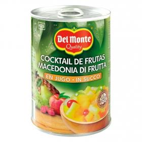 Cocktail de frutas en su jugo