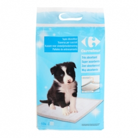 Alfombra absorbente para cachorros 60 x 60