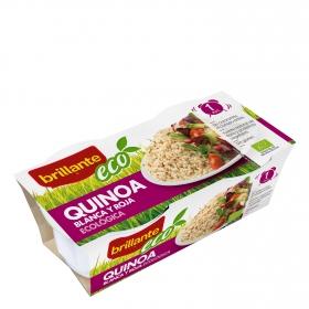 Quinoa blanca y roja ecológica Brillante pack de 2 unidades de 125 g.