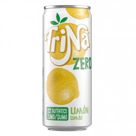 Refresco de limón sin gas y sin azúcares añadidos