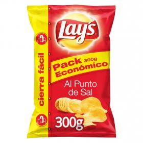 Patatas fritas con sal Lay's sin gluten 300 g.
