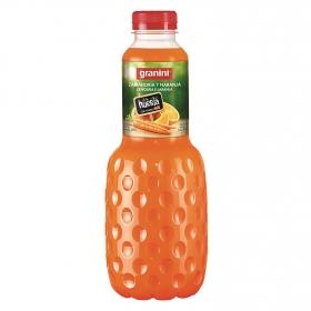 Néctar de zanahoria y naranja Granini botella 1 l.