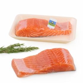Lomo salmón recién envasado CYO