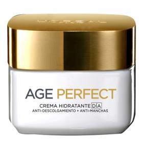 Crema de día rehidratante anti-flacidez pieles maduras