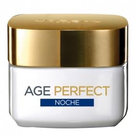 Crema de noche nutritiva anti-flacidez pieles maduras L'Oréal-Dermo Expertise 50 ml.