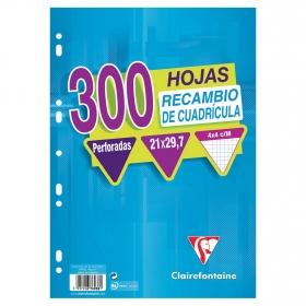 Recambio 300 Hojas A4 4x4