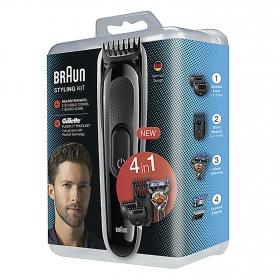 Pack de afeitadora + Maquinilla 4 en 1 Braun 1 ud.