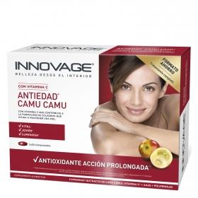 Antiedad Camu Camu con vitamina C Innovage pack de 2 unidades de 30 comprimidos.