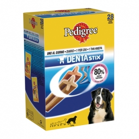 Pack de 28 barritas para perros Pedigree Dentastix
