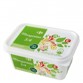 Margarina con sal Carrefour 500 g.