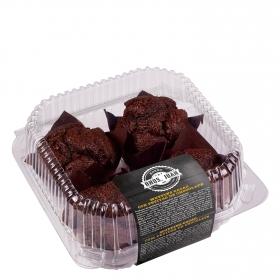 Muffins de cacao con pepitas de chocolate Hermanos Juan 300 g.