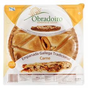 Empanada gallega tradicional de carne