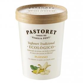 Yogur de plátano ecológico Pastoret 500 g.