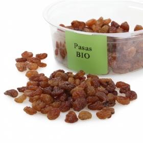 Pasa sultana ecológica Carrefour granel tarrina 125 g