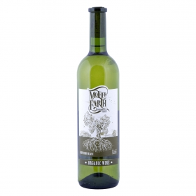Vino D.O. Uclés blanco Sauvignon Organico ecológico Mother Earth 75 cl.